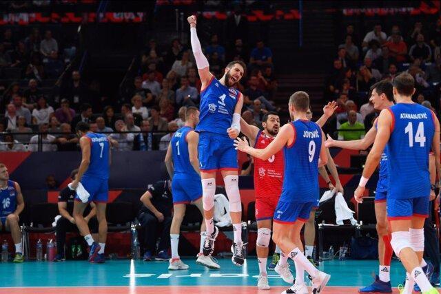صربستان قهرمان والیبال اروپا شد