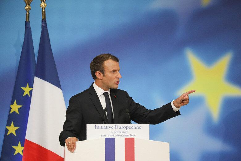 مکرون: برگزیت یک مساله داخلی است نه اروپایی
