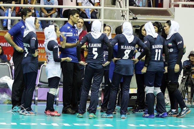 انتخابی زنان دنیا؛ تیم جوان ایران یک ست از ویتنام گرفت