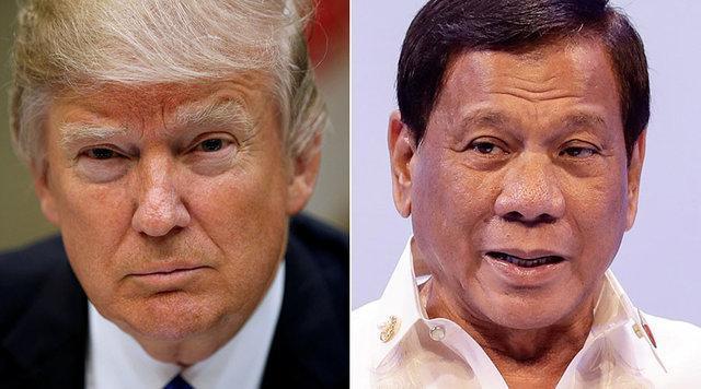 دوترته خطاب به ترامپ: حقوق بشر فیلیپین به تو ربطی ندارد!