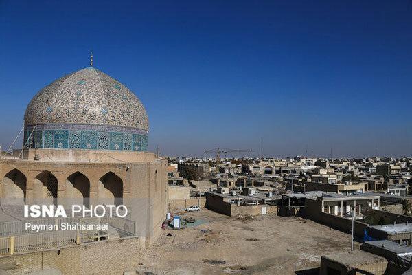نظر ناظر پروژهٔ مرمت گنبد مسجد شیخ لطف الله چیست؟