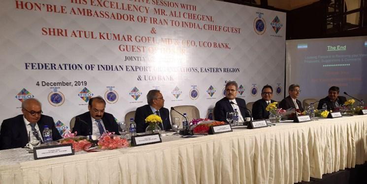 چگنی: تحریم های آمریکا نباید مانعی بر سر راه گسترش روابط هند و ایران باشد