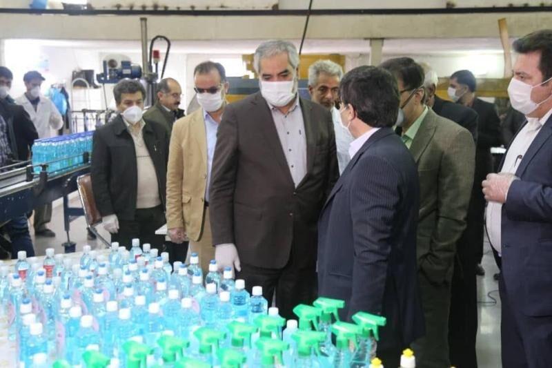 خبرنگاران استاندار: 80 هزار بطری مواد ضدعفونی کننده در کردستان توزیع شد