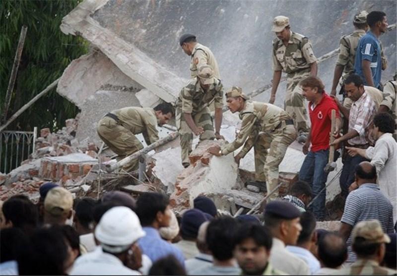 5 کشته و 35 مفقود در ریزش دو ساختمان در هند