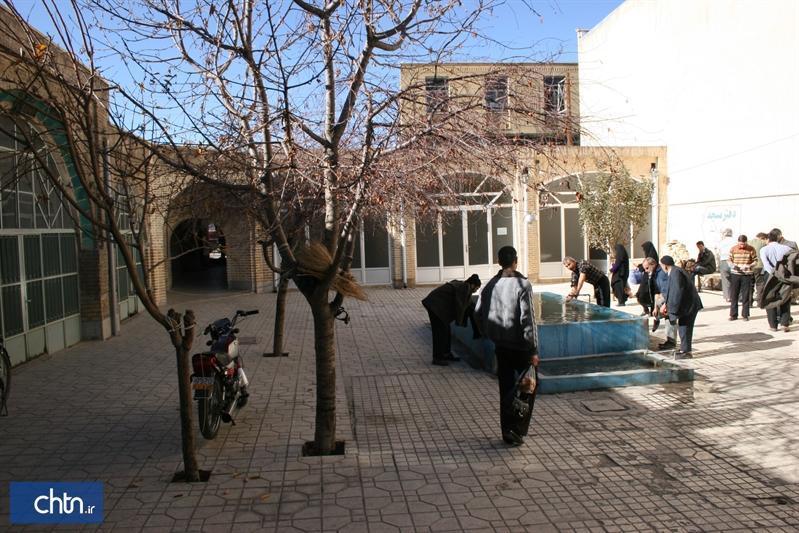 شروع بازسازی فاز جدید مسجد آقاکاظم در زنجان