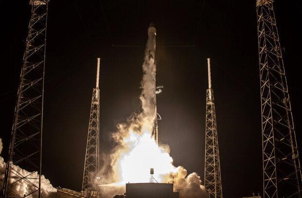 60 ماهواره استارلینک به فضا رفتند