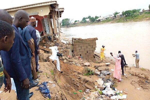 جاری شدن سیل در نیجریه 30 نفر را به کام مرگ کشید