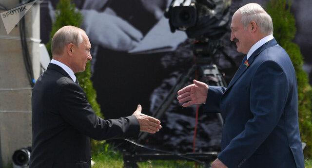 توصیه پوتین به مردم بلاروس