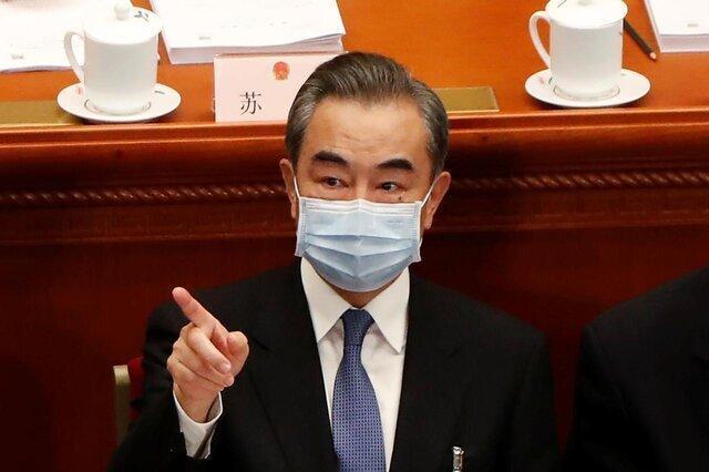وانگ یی:چین مخالف این بازی شیطانی است