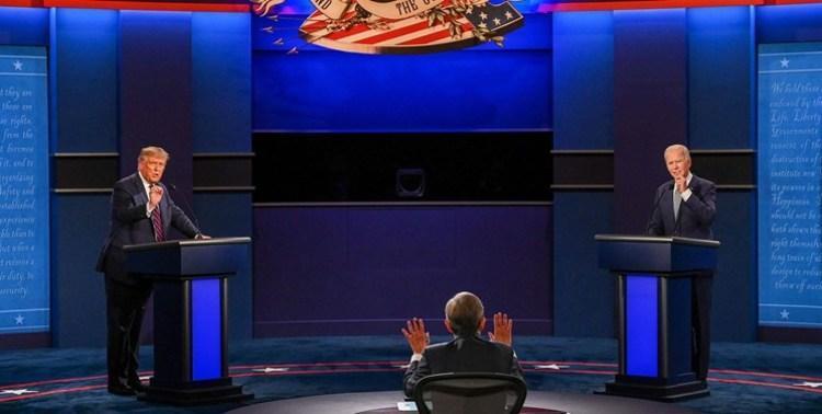 پیشتازی 13 درصدی بایدن در مقابل ترامپ بعد از مناظره اول