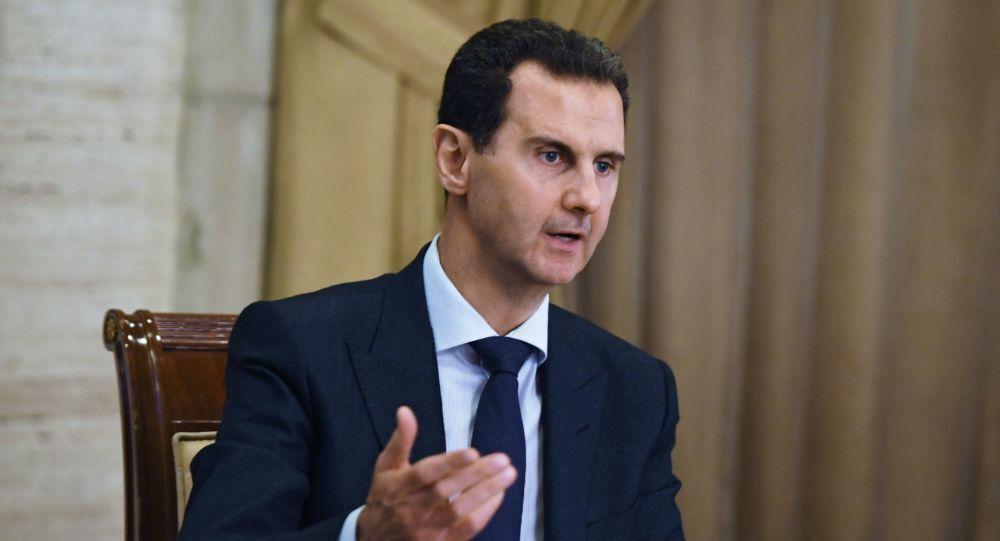 خبرنگاران بشار اسد: ایجاد موازنه جهانی برای مجازات اقدامات شرورانه آمریکا ضروری است