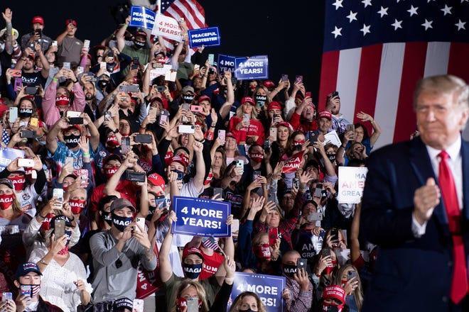 ترامپ: اگر به بایدن ببازم شاید از آمریکا بروم