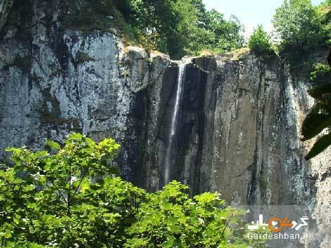 آبشار لاتون؛بلندترین آبشار استان گیلان، عکس