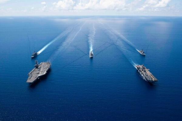 انتقاد ارتش آمریکا از فعالیت های نظامی دریایی چین
