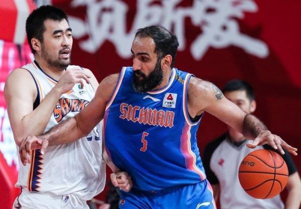 لیگ بسکتبال چین، سیچوان از سد جیلین گذشت، حدادی 15 امتیاز گرفت