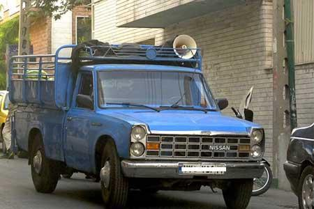 زندان، انتها کار روی نیسان استیجاری ، حادثه پشت حادثه برای آقا قدیر