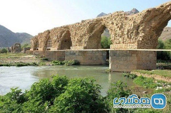 اعلام اتمام بازسازی و استحکام بخشی پل شاپوری خرم آباد