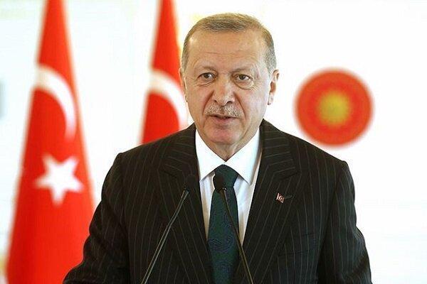 اردوغان خواستار رفع تحریم های ضدایرانی شد