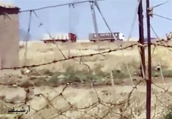 تداوم سرقت گندم سوریه توسط اشغالگران آمریکایی