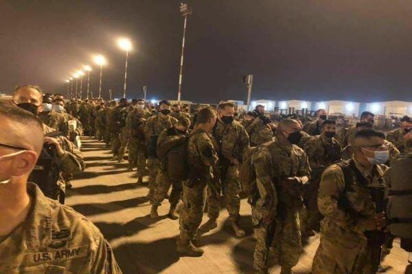 عقب نشینی شماری از نظامیان آمریکایی از پایگاهاربیل عراق