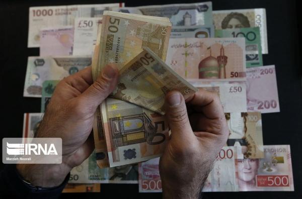 کاهش نرخ رسمی 23 ارز، جزئیات قیمت ها