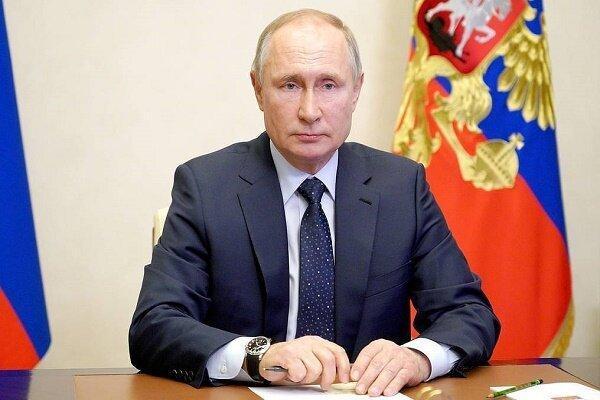 پوتین: مشت محکمی بر دهان بدخواهان پیوستگی خاک روسیه خواهیم زد