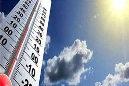 کاهش نسبی دمای پایتخت طی امروز