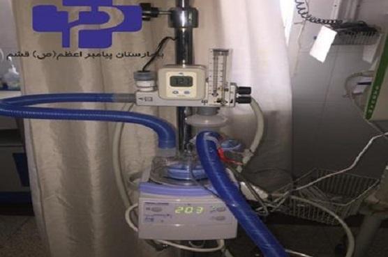 راه اندازی دستگاه اکسیژن تراپی تازه در بیمارستان قشم