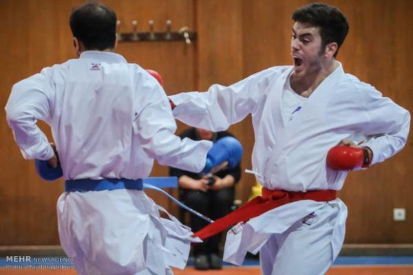 اردونشینان جهانی تیم ملی کاراته معین شدند