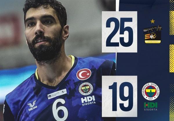 ملاقات محبت آمیز والیبال، یاران موسوی مغلوب تیم عبادی پور شدند، کولاکوویچ جدال صرب ها را باخت